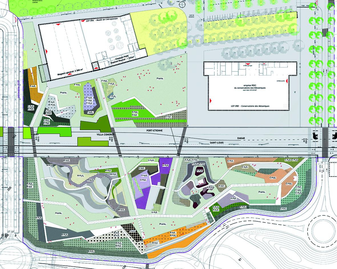 Jardins de la ligne en for Plan de jardin en ligne